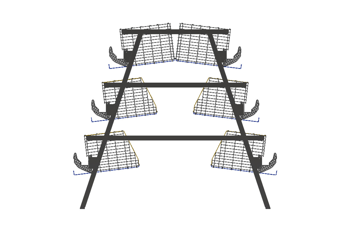 a-frame-cage-laying-cage-front-iew